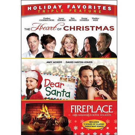 Holiday Favorites Triple Feature: The Heart Of Christmas / Dear Santa / Fireplace And Melodies For The Holidays (Widescreen)