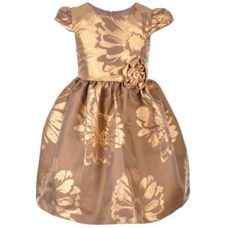 3582a6f5a9d5 In Fashion Kids - Bonnie Jean Little Girls' Dress (Sizes 4 - 6X) -  Walmart.com