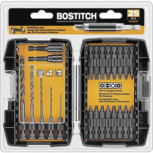Bostitch 25-Piece Impact Set, BSA225DDIM