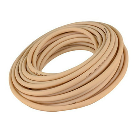 Soft Beige Opaque Abrasion Resistant Gum Rubber Tubing for Air and Wa