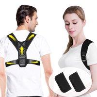 Liiva Posture Corrector Posture Belt For Women For Men With Underarm Pads, Adjustable Posture Brace for Back Clavicle Support and Upper Back Correction