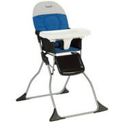 Cosco Simple Fold High Chair, Colorblock Surf the Web Blue