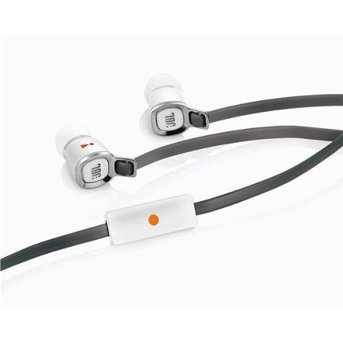 JBL J33a Premium In Ear Headphones with JBL Drivers and Microphone,White