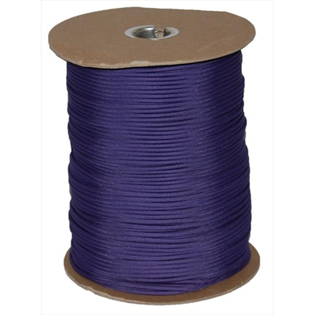 T.W. Evans Cordage 6510P Paracord 1000 ft. Spool in Purple