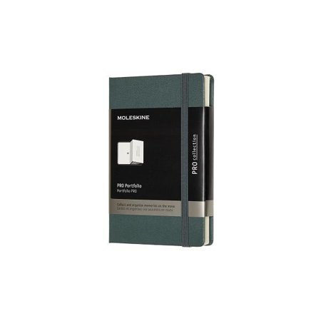 Moleskine Professional Portfolio, Pocket, Forest Green (3.5 X 5.5) -