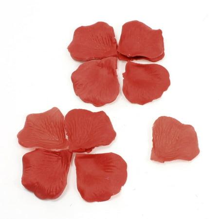 ... Bridal Decoration Red Fabric Manmade Rose Petal 200 Pcs - Walmart.com