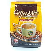One Free NineChef Spoon + Aik Cheong Instant 3 in 1 Coffee Mix Campuran Minuman Kopi 600g. (20g.x30 Sachets) (2 Bag)