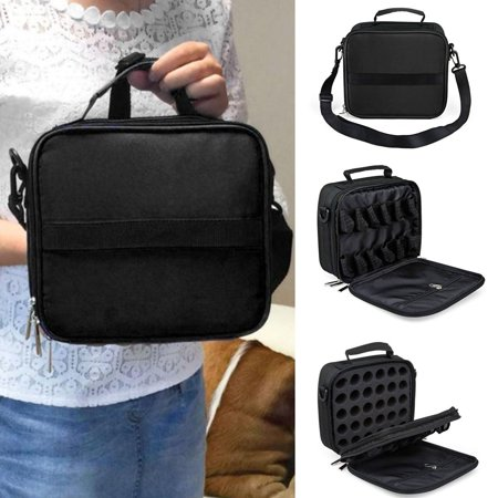 42 Bottle Portable Essential Oil Carrying Case Nail Polish Bag Holder Storage Carry Tote ()