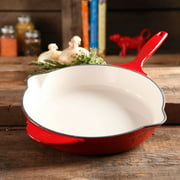 "The Pioneer Woman Timeless Cast Iron, 12"" Cast Iron Enamel Skillet"