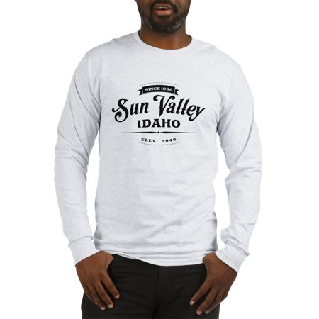CafePress - Sun Valley Vintage Long Sleeve T Shirt - Unisex Cotton Long Sleeve T-Shirt