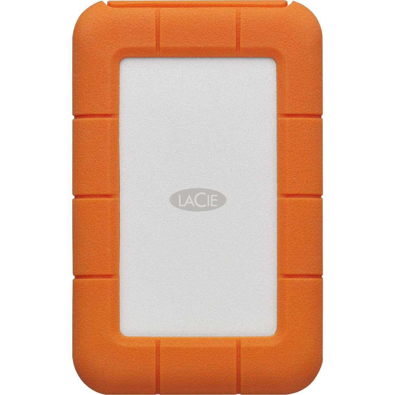 Lacie STFR2000403 Seagate Lacie Rugged Secured 2tb Usb-c Portable Hard Drive Orange