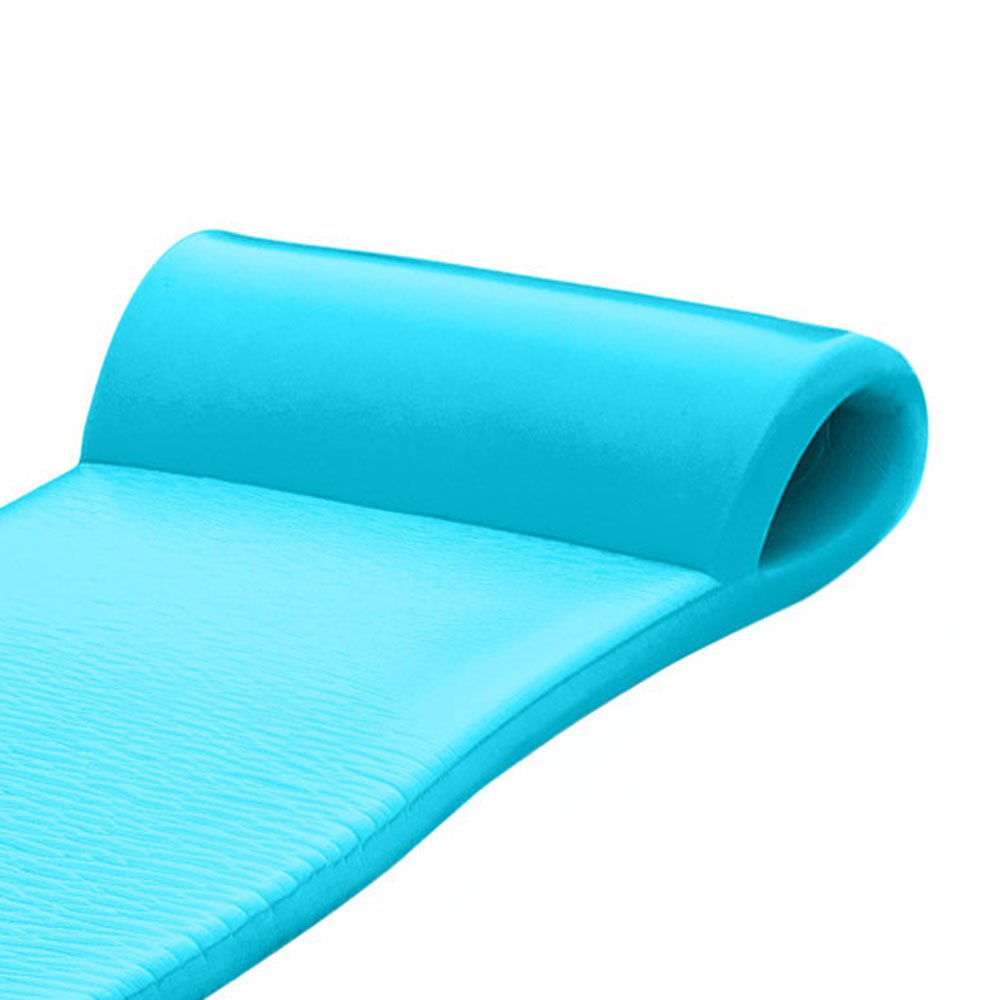 TRC Recreation Sunsation 70 Inch Foam Raft Lounger Pool Float, Teal (2 Pack)
