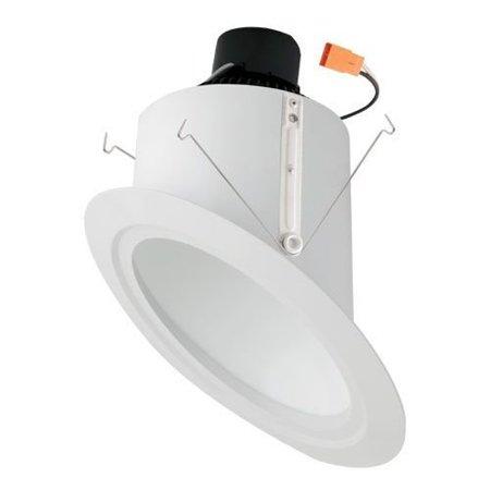 Elco Lighting Super Sloped Ceiling Baffle Inserts 6 Led Recessed Retrofit Downlight
