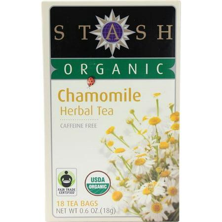 Stash Thé à base de plantes bio sans caféine Camomille - 18 CT