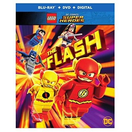 LEGO DC Super Heroes: The Flash (Blu-ray + DVD + Digital) (All The Superheroes)