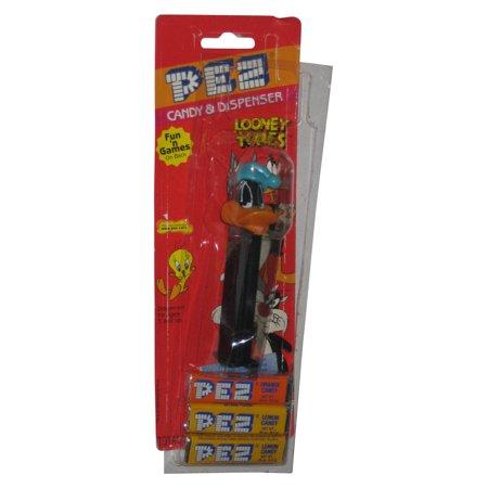 Looney Tunes Daffy Duck w/ Hat PEZ Candy Dispenser - Pez Dispenser Halloween Costume