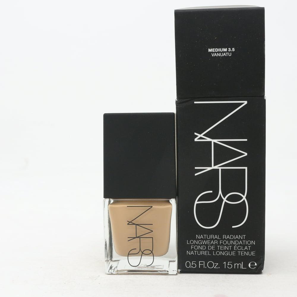 Nars Natural Radiant Longwear Foundation 0.5oz Medium 3.5 Vanuatu New With Box
