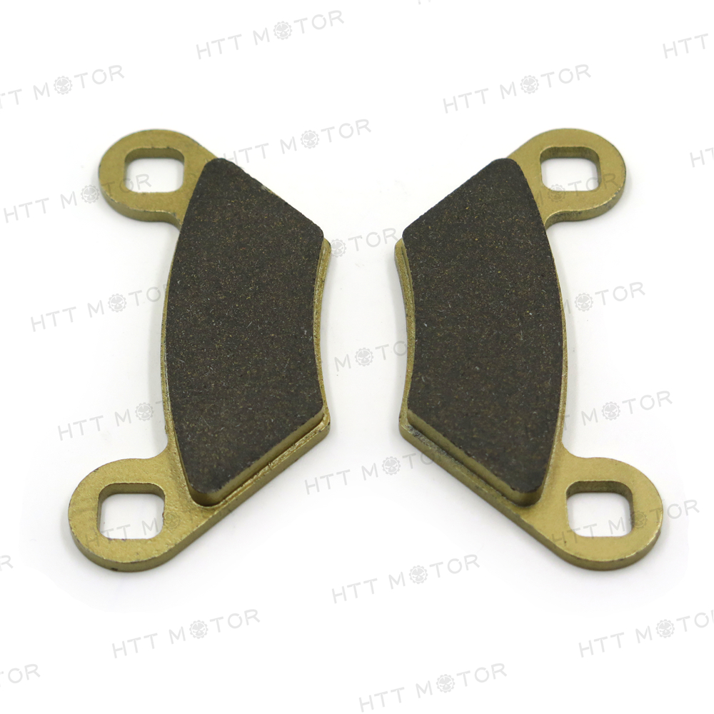 TUPARTS Front and Rear Brake Pads FA475 Fit for 2011-2014 for Polaris Sportsman 400 2010-2012 for Polaris Sportsman 500 2010-2014 for Polaris Sportsman 550