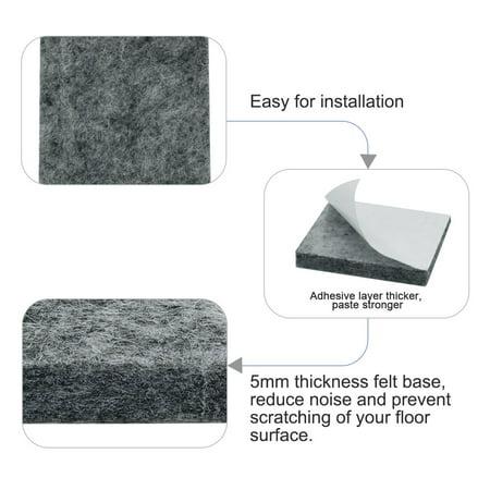 "Felt Furniture Pad Square 7/8"" Self Adhesive Anti-scratch Floor Protector 30pcs - image 2 of 7"