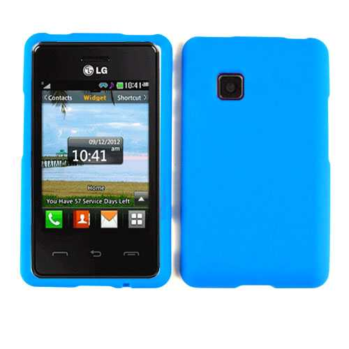 Unlimited Cellular Snap-On Case for LG 840G (Fluorescent Blue)