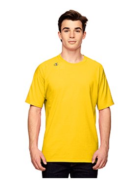 d9bba6df4 Product Image Vapor® Cotton Short-Sleeve T-Shirt - SPORT ATH GOLD - M.  Champion