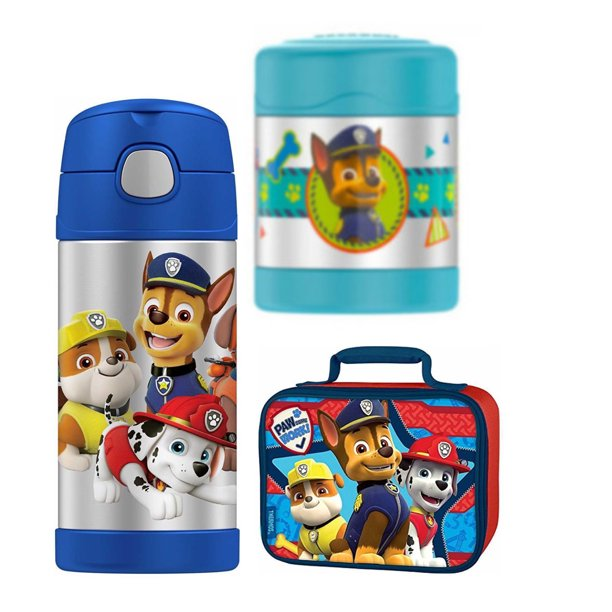 Thermos Funtainer Lunch Box Bundle (Paw Patrol)