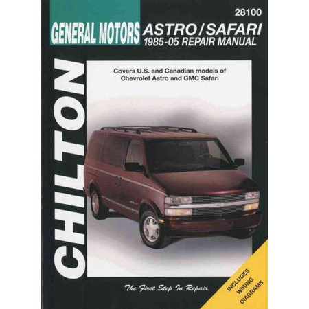 Chiltons General Motors Astro Safari 1985 05