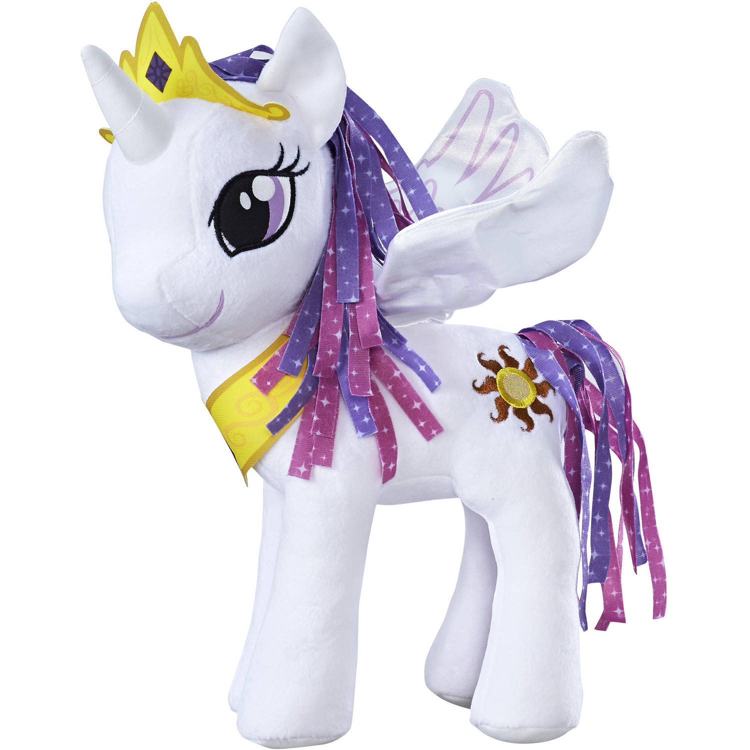 My Little Pony Friendship is Magic Princess Celestia Feature Wings Plush by Hasbro Inc