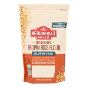(6 Pack) Arrowhead Mills Organic Gluten Free Brown Rice Flour, 24 Oz