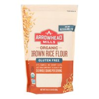 (6 Pack) Arrowhead Mills Organic Gluten Free Brown Rice Flour, 24 OZ