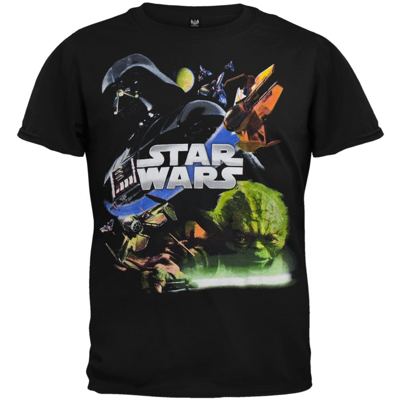 Star Wars - Attack Black Youth Short Sleeve T-Shirt