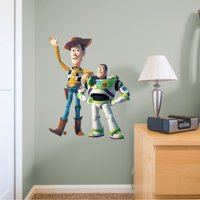 Fathead Woody & Buzz - X-Large Officially Licensed Disney/PIXAR Removable Wall Decal
