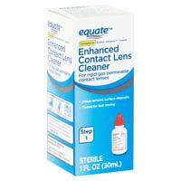 Equate Enhanced Contact Lens Cleaner, Step 1, 1 fl oz