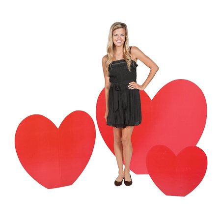 Valentines Party Decor (Fun Express - Valentine Large Stand up for Valentine's Day - Party Decor - Large Decor - Floor Stand Ups - Valentine's Day - 3)