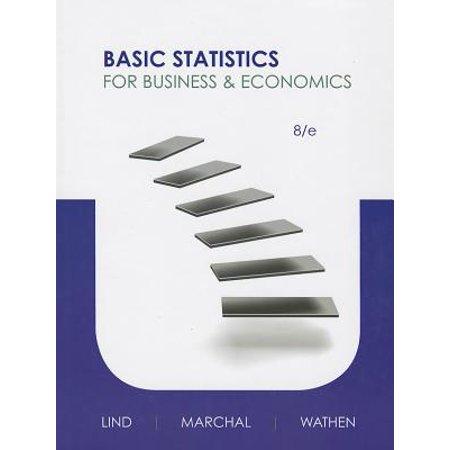 Basic Statistics for Business and Economics - Halloween Business Statistics