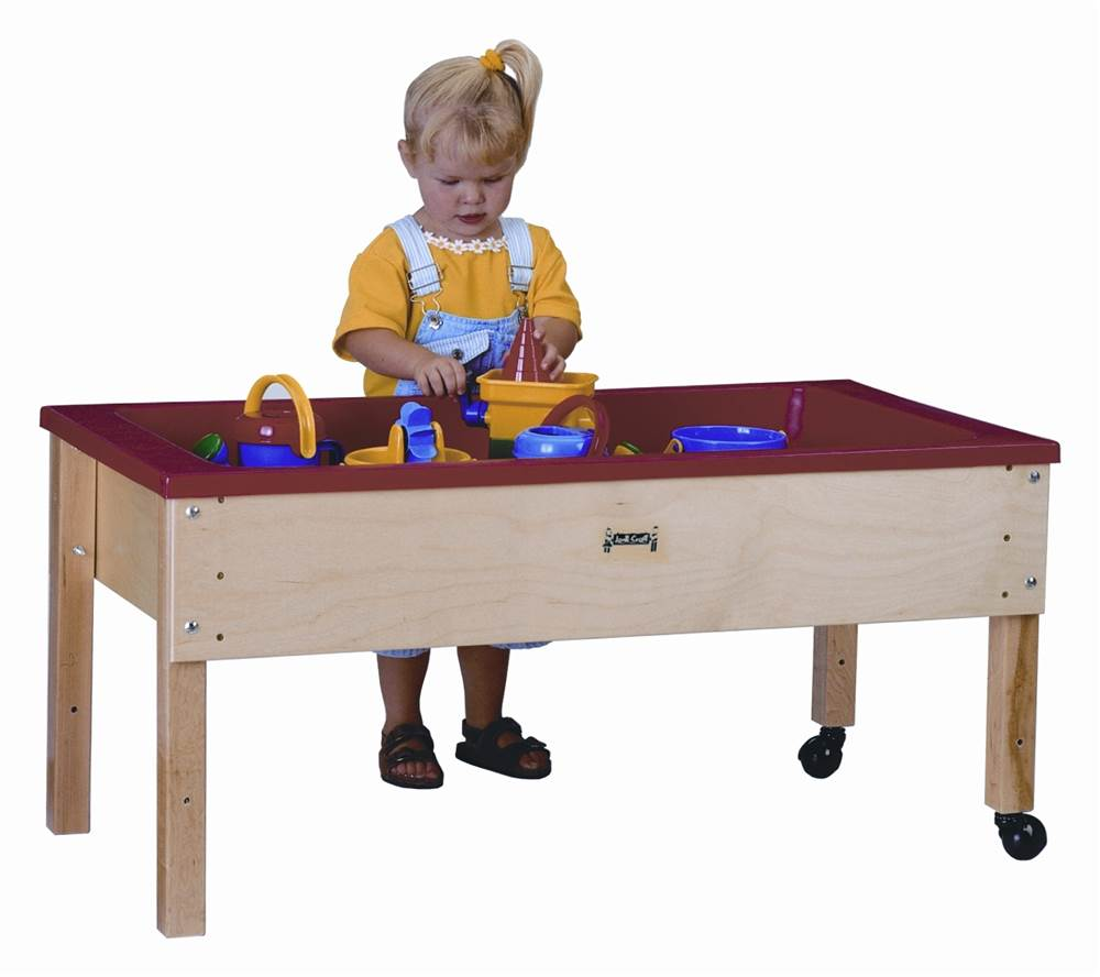 Jonti Craft Toddlers Large Sensory Table W Plastic Tub