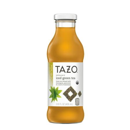 Tazo Organic Iced Tea, Green Tea, 13.8 Fl Oz, 8 Count