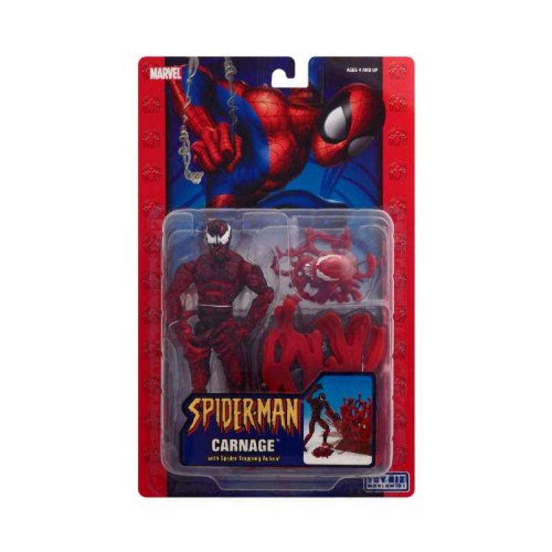 Spider-man Carnage with Spider Trapping Action
