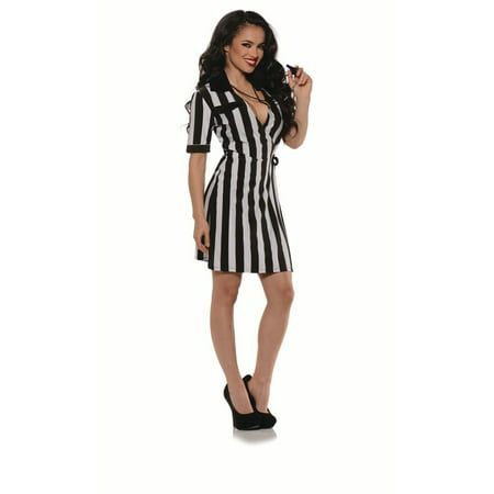 Girl Referee Costume (Adult Sexy Female Referee Costume by Underwraps Costumes)