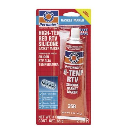 Permatex 81160 High Temp RTV Silicone - 3oz. Tube