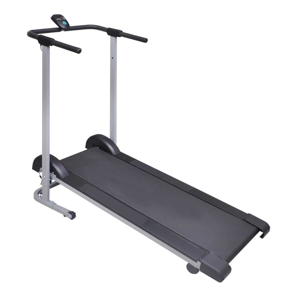 Anself Folding Manual Treadmill Running Machine Cardio Fi...
