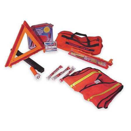 CORTINA 95-06-02G Roadside Emergency Kit/Triangle, 12 Piece