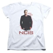 Trevco Ncis-Probie - Short Sleeve Womens Tee - White, Small