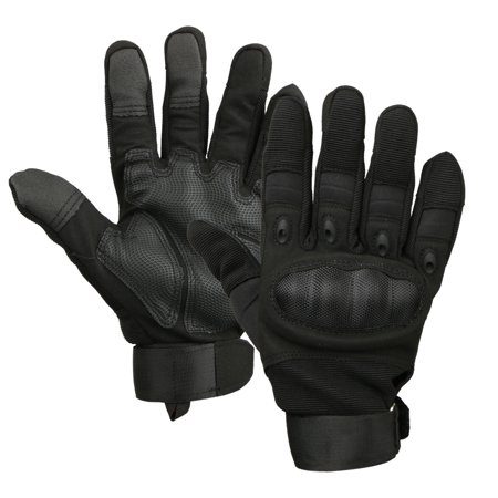 Touch Screen Motorcycle Full Finger Riding Gloves for Motorcycle Riding Motorbike Airsoft Paintball Combat Hunting Hiking(M, L, XL)