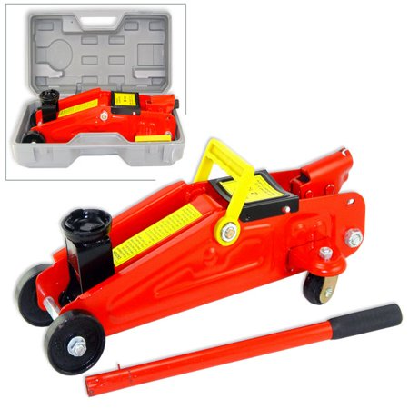 Hiltex 2 Ton Mini Portable Floor Jack Vehicle Car Garage