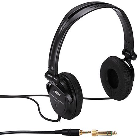 18b5d4f074d Sony MDRV250V Studio Monitor Series Headphones with In-Cord Volume Control  - Walmart.com