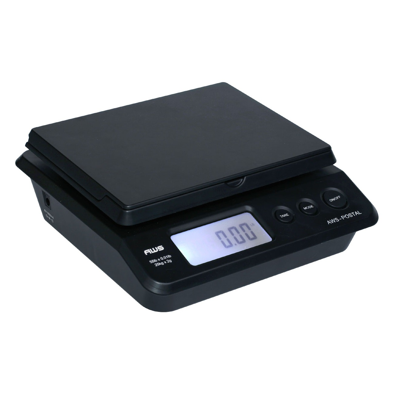 American Weigh Scales PS-25 Digital Postal/Shipping Scale