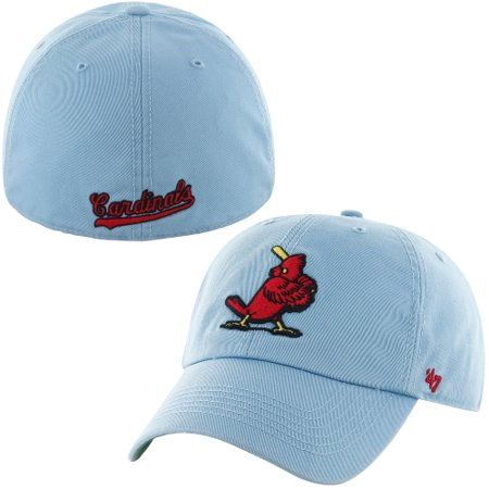 St. Louis Cardinals  47 Cooperstown Franchise Fitted Hat - Light Blue -  Walmart.com 5df9b7d45b9