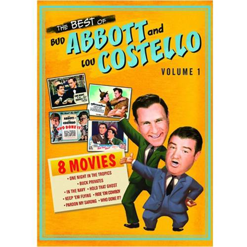 The Best Of Bud Abbott And Lou Costello, Vol. 1 (Full Frame)