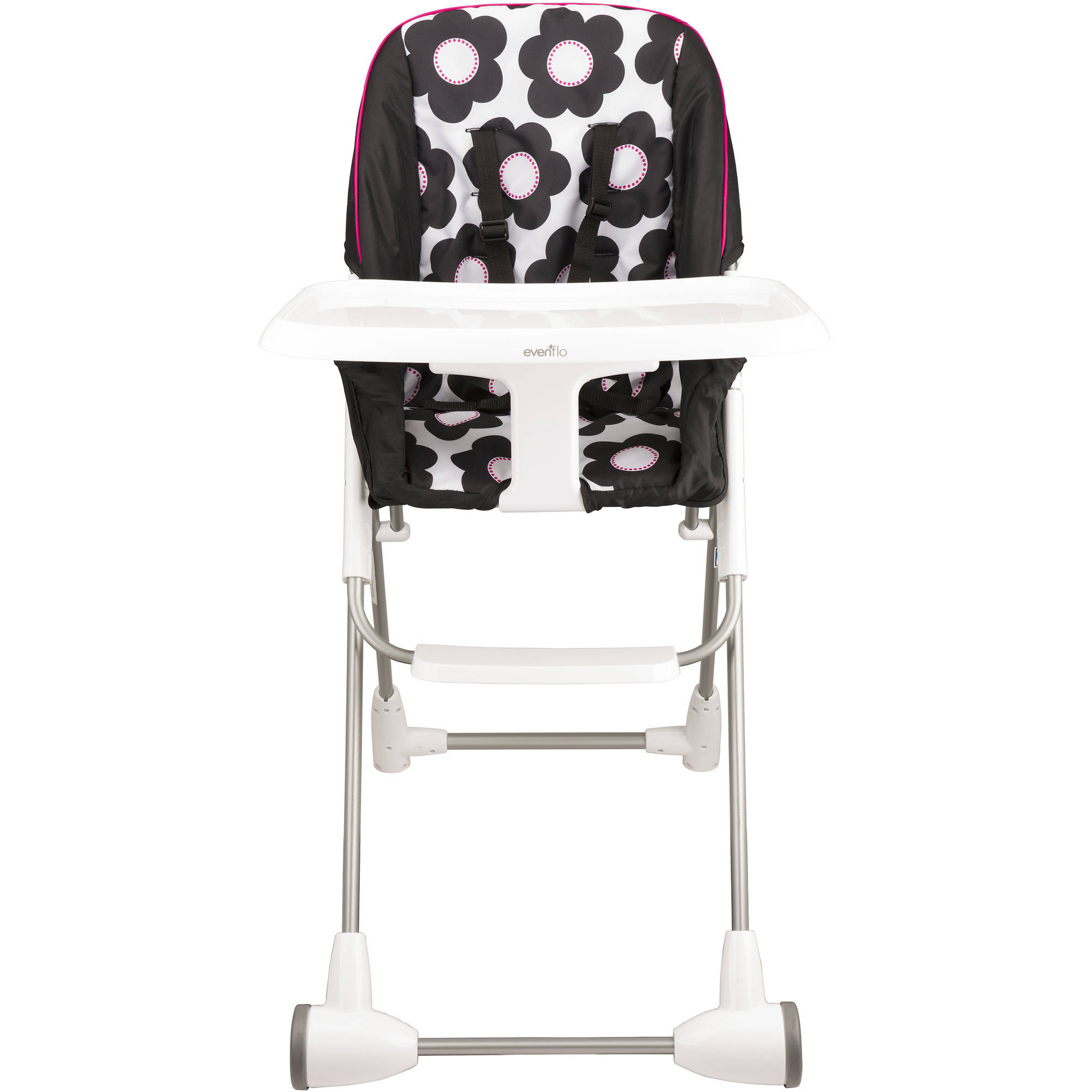Evenflo Symmetry Flat Fold High Chair, Marianna